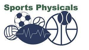 Sports Physicals on May 5th!